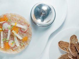 Tartar de llobarro - Restaurant Gaig