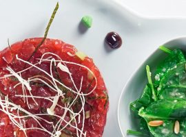 Tartar de tonyina - Restaurant Gaig